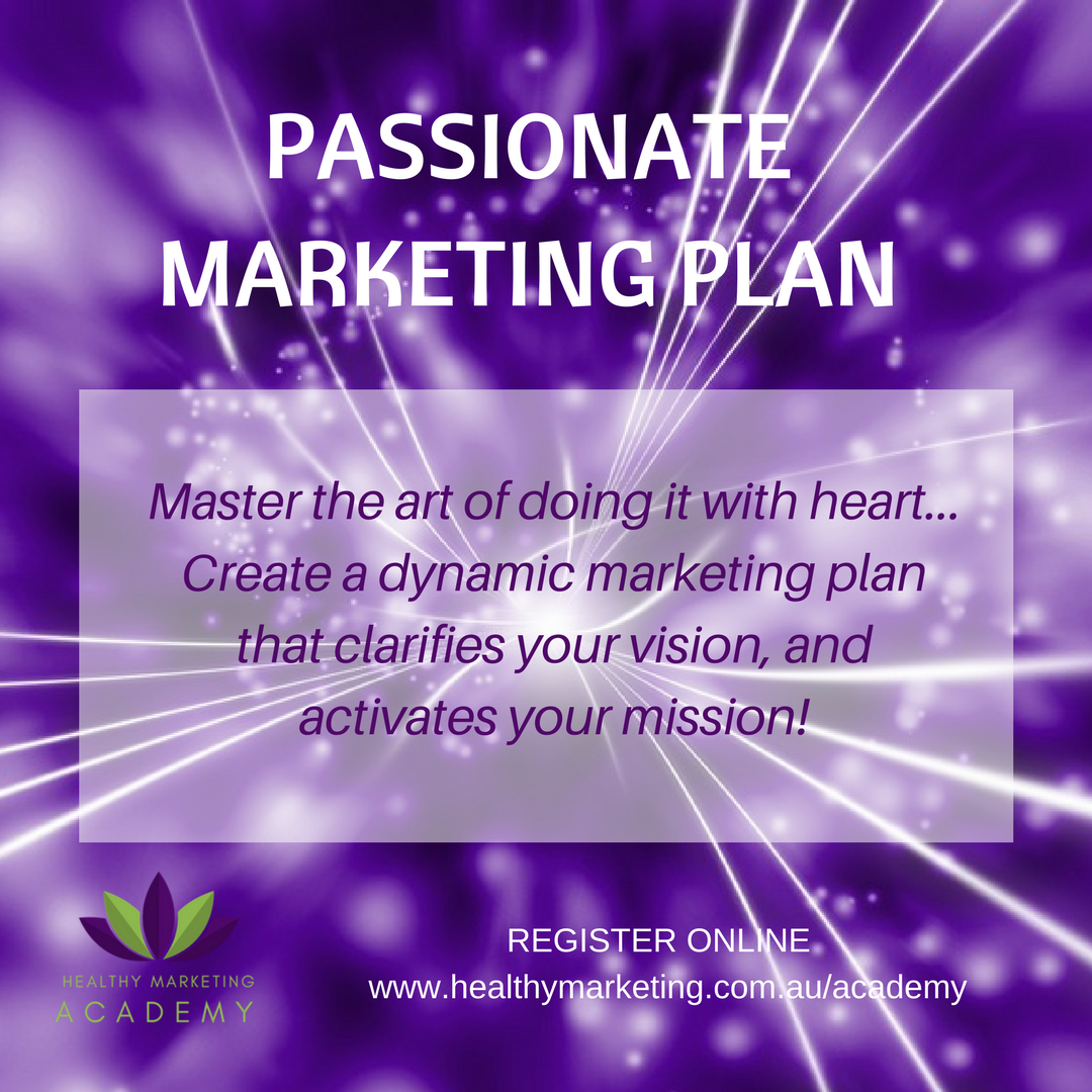 Passionate Marketing Plan with Krishna Everson